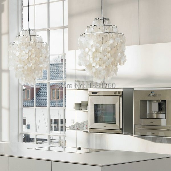 Aliexpress Buy Verner Panton Shell lamps Fun 2 and 3 Circle – Diy Shell Chandelier