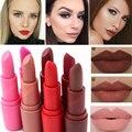 Gran Venta de Maquillaje A Prueba de agua Sexy Tatuaje de Labios de Larga Duración Completa 7 Pigmentos de Color Rojo Marrón Nude Mate Terciopelo Lápiz Labial Lip Kit Estera