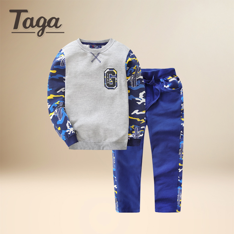 Brand NEW Baby boy clothes 2017 New Spring and Autumn Blue Grey long sleeve t-shirt + casual long pants 2pcs suit kids clothes прогулочная коляска cool baby kdd 6699gb t fuchsia light grey
