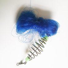 Поверните мелководье net ловушка ажурные медь pesca шарики рыболовная сеть светящиеся