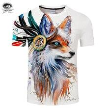 8f3a5300 Fox by Pixie cold Arts 3D Print t shirt Men Women tshirt Summer Casual  Short Sleeve