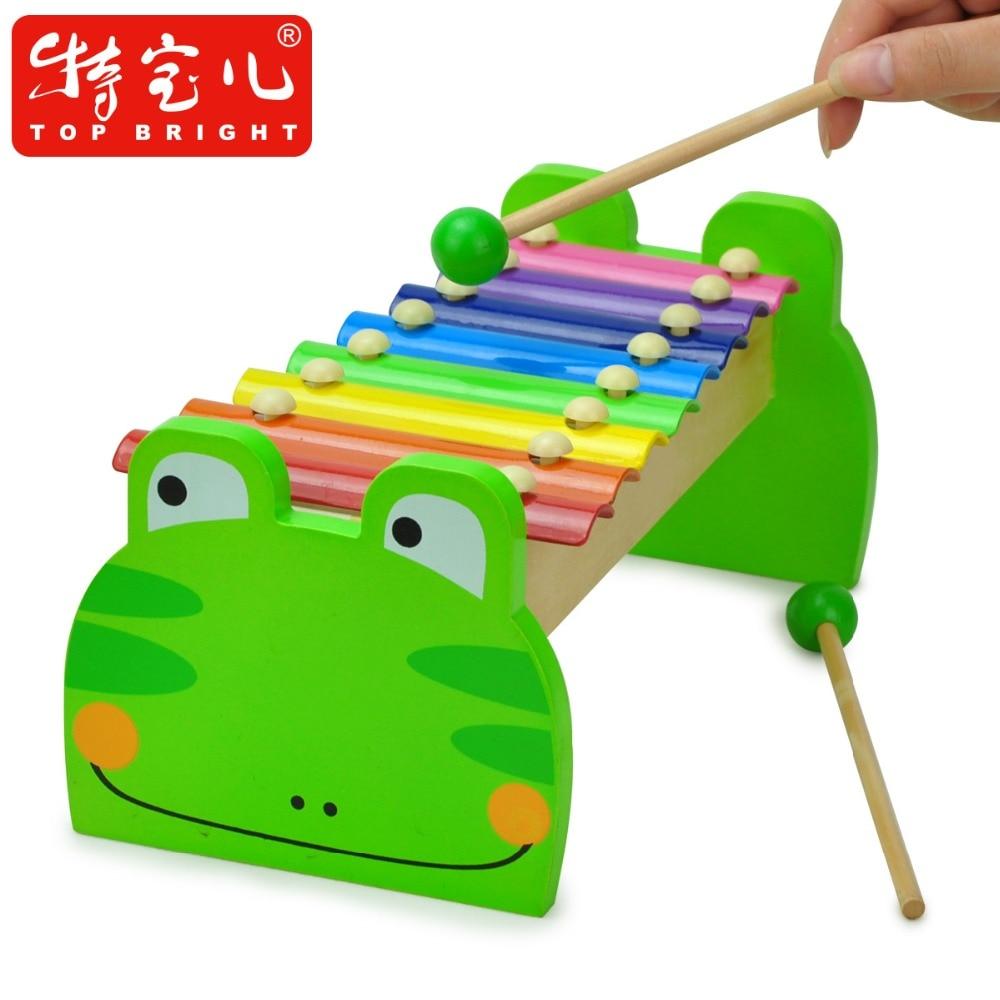 candice guo sapo de madeira brinquedo de madeira colorido dos