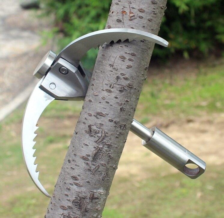 Plein air automatique escalade griffes grappin crochet mousqueton alpinisme griffe sauvetage équipement arbre acier rappel outil charge 350 kg