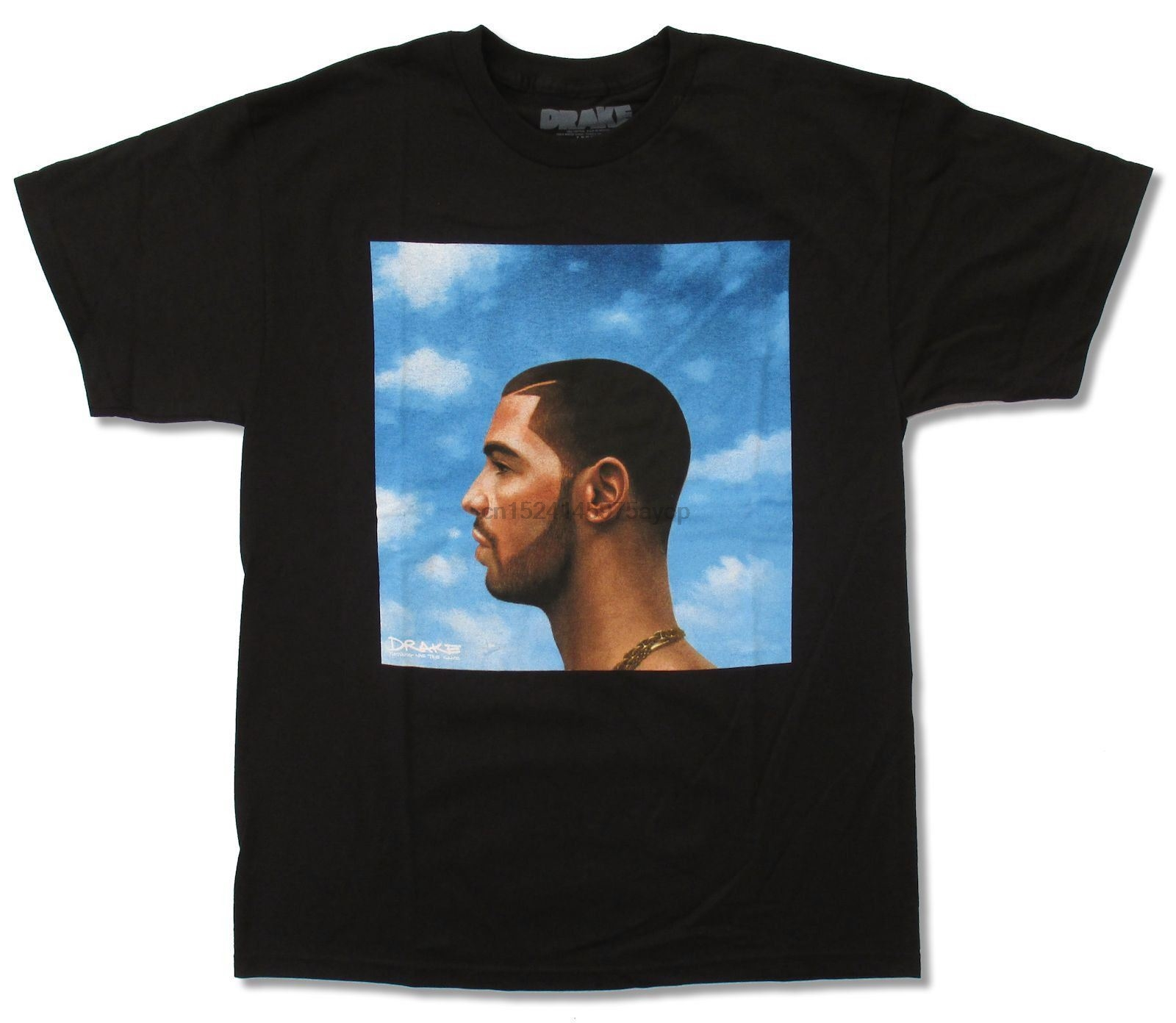 Drake Older Cover Black T Shirt New Official Rap Singer Nothing Was The Same P Male Best Selling T Shirt image