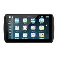 799 7 Inch 8GB ROM+128M RAM TFT LCD Display GPS Navigator 800*480 Capacitive Touch Screen GPS Navigation For Car Truck
