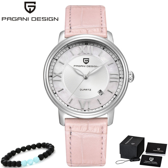 Newest Fashion Steel Women Watch Top Luxury Brand PAGANI Ladies Quartz Watches Leather Watchbands Best Gifts For Girl Friends | Fotoflaco.net