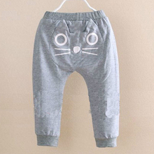 Cute Cartoon Pattern Baby Pants