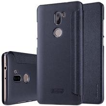 Xiao Mi Mi5s плюс Чехол флип NILLKIN Новый Блеск Роскошный кожаный чехол для сяо Mi Ми 5S плюс 5.7 дюймов с окошком