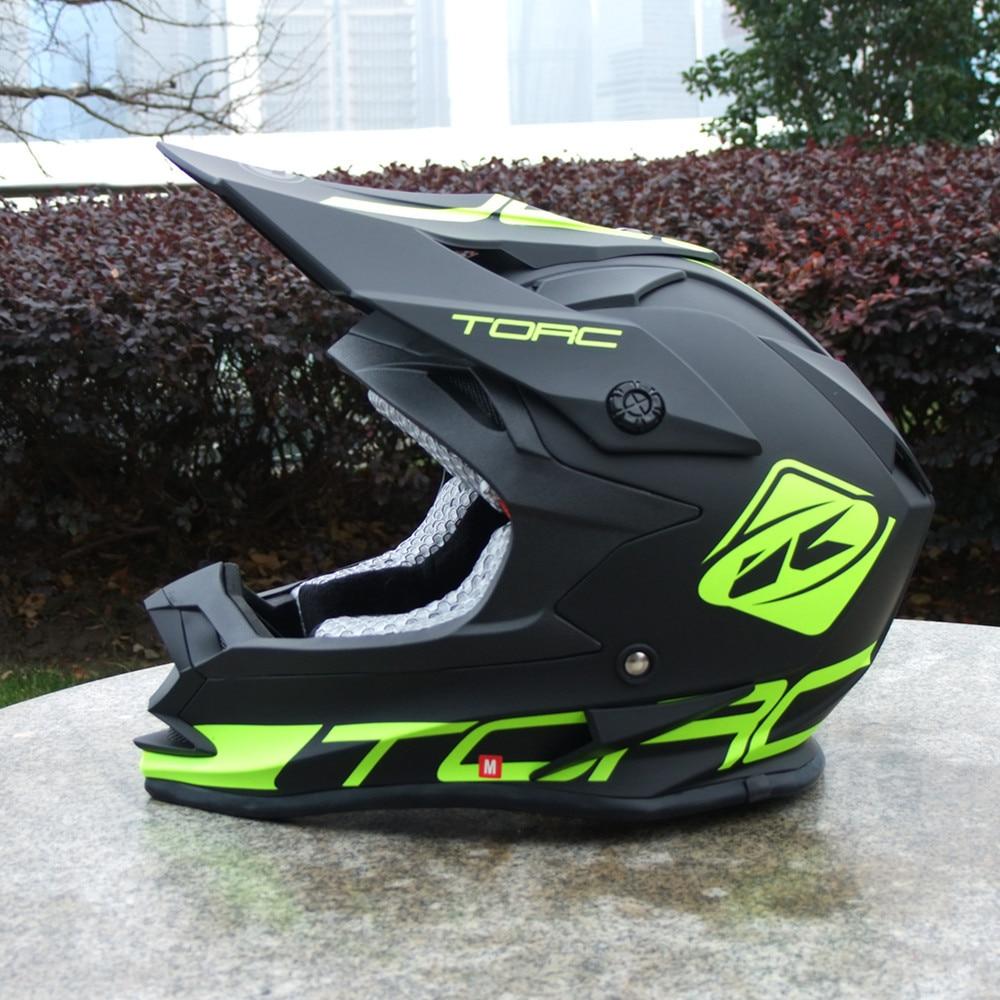 Offre spéciale TORC T32 casque moto Kenny capacete casco ATV moto casque tout-terrain casque moto cross Racing casques ECE approuvé