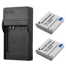 2×1200 мАч NB6L NB-6L цифровой Батареи для камеры + USB Зарядное устройство для Canon IXUS 310 SX240 SX275 SX280 SX510 SX500 hs 95 200 105 210 300