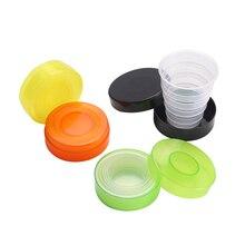 1 шт портативный складной выдвижной пищевой PP чашки путешествия кружка случайный цвет