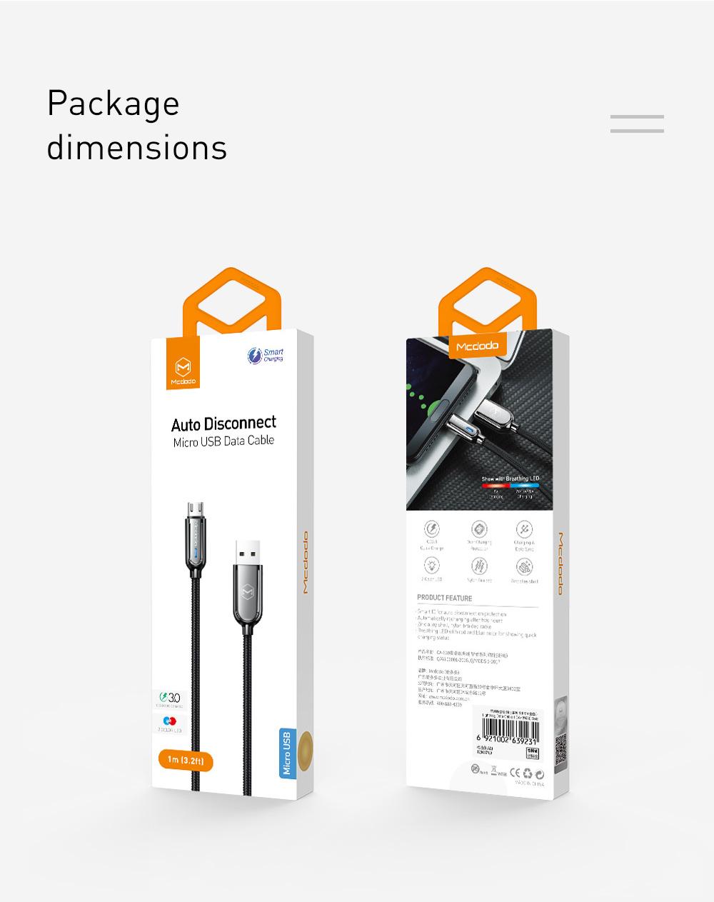 Xiaomi Cable 10Pcs/lot States 12