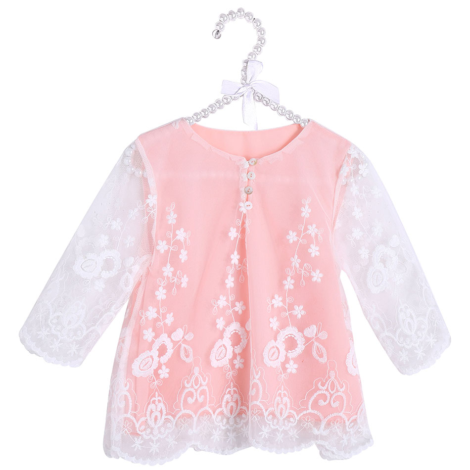 Kids Girls Coat Toddler Baby Girl Jacket Lace Kids Clothing Baby Girl Outfits Infant Child Clothes Chiffon Lace Tops for Baby