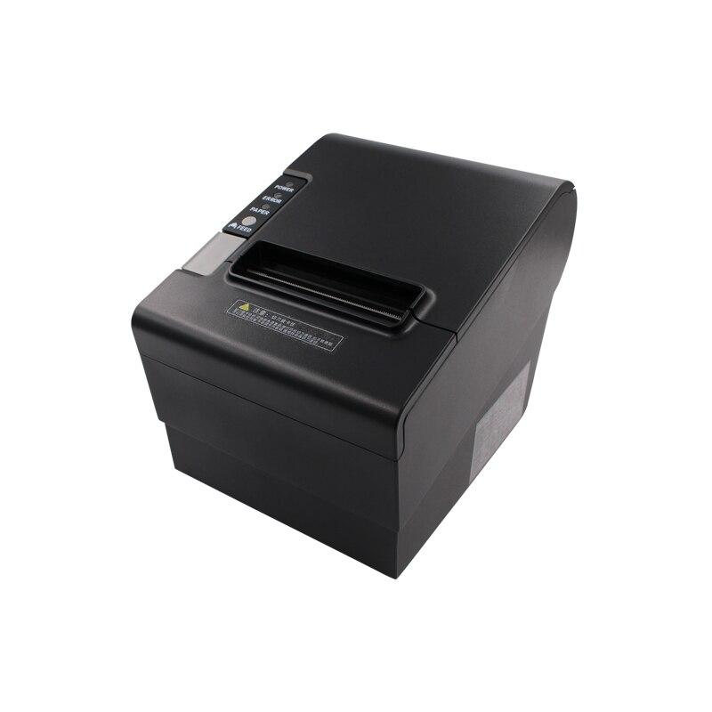 Авто резак 80 мм термочековый принтер YK 8030 прямой термопринт дизайн для кассового аппарата USB, LPT, PS/2 в одном