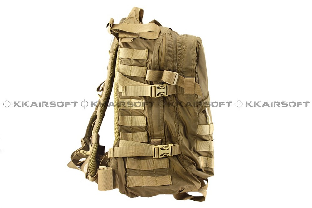 outdoor military tactical backpack Emerson Lightweight U3D pack backpack (Coyote Brown AT MC) bd8631a fire maple sw28888 outdoor tactical motorcycling wild game abs helmet khaki