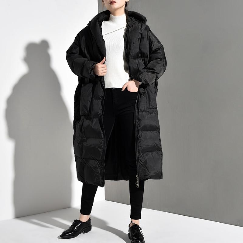 Size New Long Black 9
