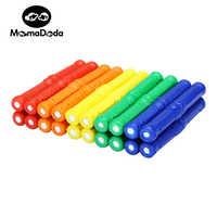 50pcs/100pcs Educational Magnetic Stick Toy For Kids Magnet Building Blocks Toys Accessories Designer Magnetic Construction Toys