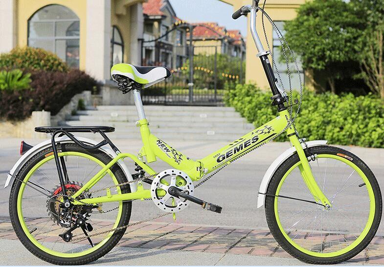Nova style20 primavera garfo ciclismo equipamento fabricante Polegada bicicleta dobrável