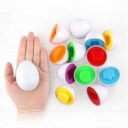 6 stücke Baby Gashapon Lernen Bildung Smart Eier Spielzeug Intellektuelle Entwicklung Grip Ausbildung Baby-Kind-Learning Spielzeug Gehirn Spiel