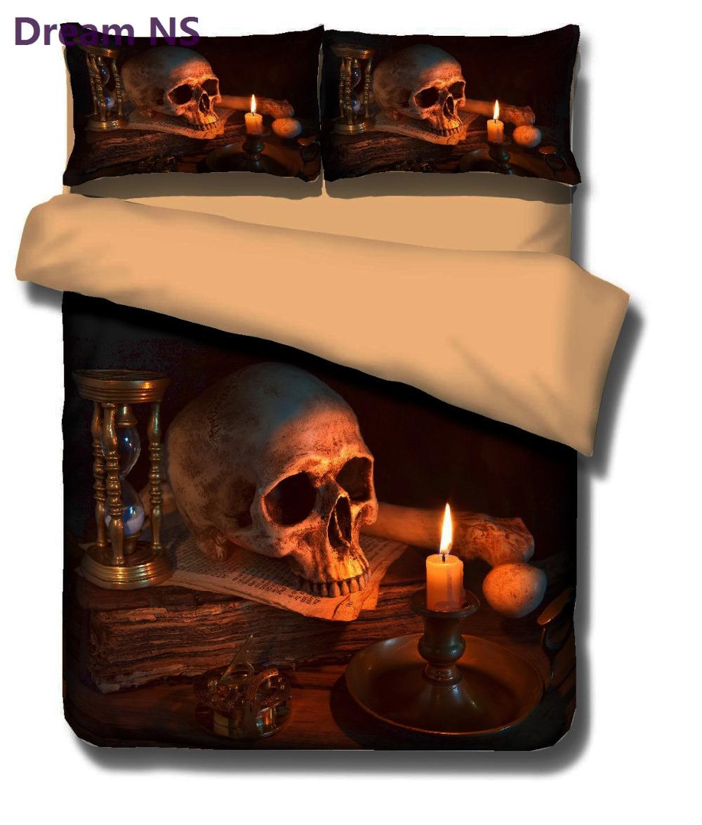 3D pealuu piltidega voodipesukomplektid