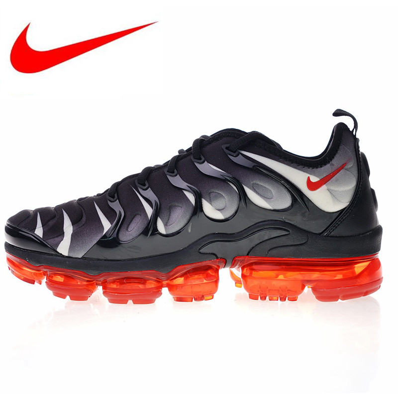 promo code 16b0f 10196 US $64.49 |Original Nike Air Vapormax Plus TM Men's Running Shoes New  Outdoor Sports Shoes Non slip Shock Absorption AQ8632 001 924453 009-in  Running ...