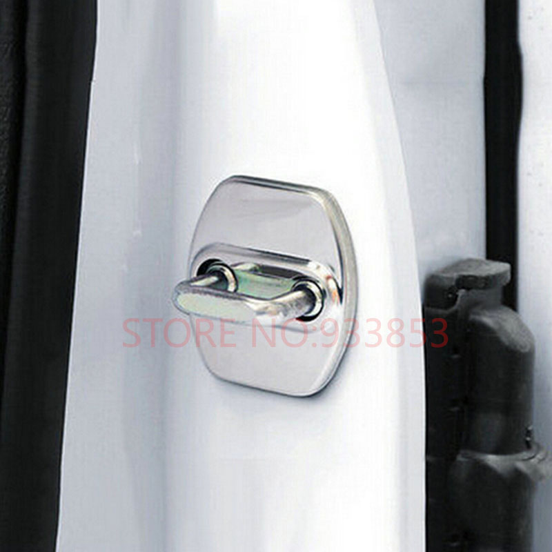For Hyundai Tucson 2016-2018//Door Lock Cover Buckle Catch Protector Checker Case