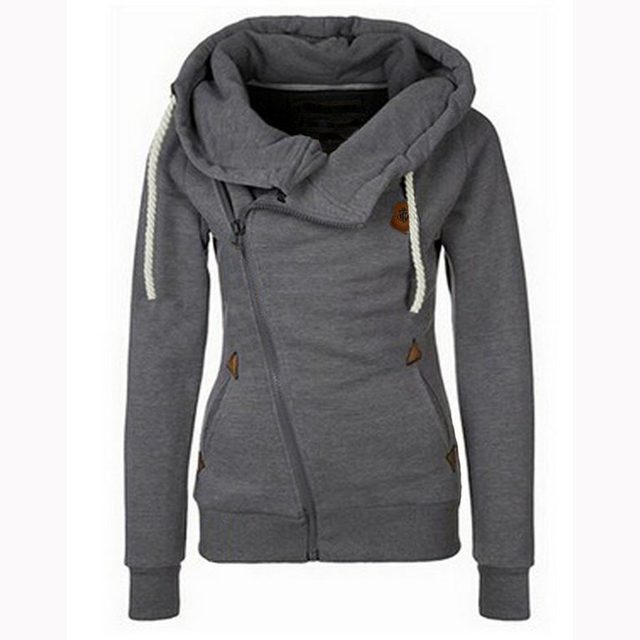 Fashion Slim Hoodies Jacket – Sizes S-XXL