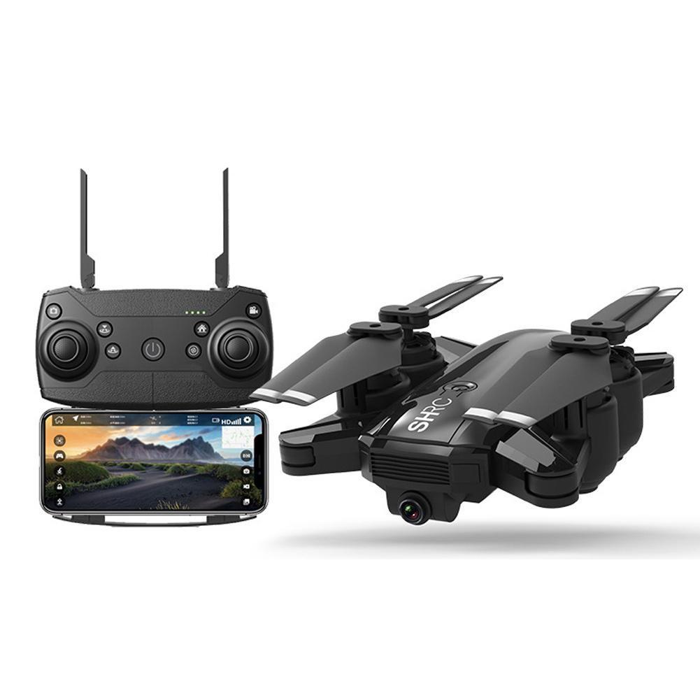 Nouveaux Drones de caméra H1G 1080 P 5G WiFi FPV GPS suivez-moi Mode pliable 25 minutes de temps de vol Drone quadrirotor RC