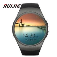 Pulsmesser KW18 Uhr Smart Uhr Bluetooth 4,0 Smartwatch MTK2502C Siri & Gestensteuerung Für iOS Andriod Telefone