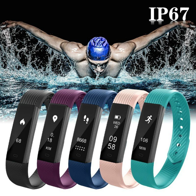 New Smart Bracelet Bluetooth Bracelet Pedometer Fitness Outdoor Fitness Equipment-in Outdoor Tools from Sports & Entertainment