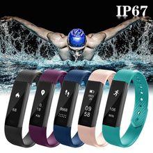Nueva pulsera inteligente con Bluetooth, podómetro, equipo de Fitness al aire libre