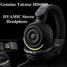 Genuine Takstar HD6000 HD 6000 Dynamic Stereo Headphones Auriculares Studio Audio Monitor font b Headset b