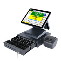 all in one touch pos system cash register factory epos system wholesale hot pos equipment