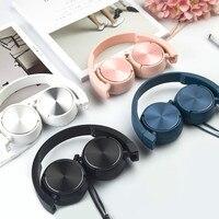 2018 리얼 직접 판매 유선 Xiomi 폰 드 Ouvido 이어폰 단색 밝은 음성 헤드셋 접이식 Dx01