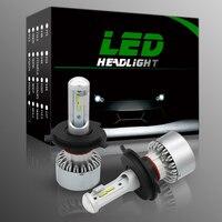2Pcs Lot Car LED Headlight Fog Lights Bulb 12LED PSX24W PSX26W H7 H11 H1 9005 9006
