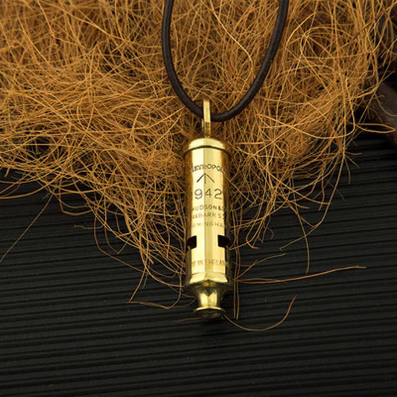 couleur Al/éatoire 1pc Arbitre Sifflet En Acier Inoxydable Coup De Sifflet En M/étal Sifflet Avec Longe Sport Classic Design Whistles Durgence Whistles