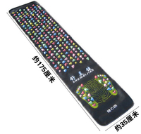 175 35Cm Colorful Plastic Foot Massage Pad Medialbranch Pad Chinese Health Care Walk Stone Square Healthy