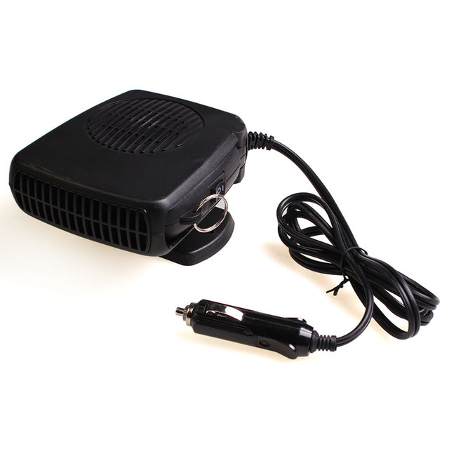 12v Portable Car Heater Ptc Ceramic Heating Automobile Warm Air Er Windshield Defrosting Hot And Cold Dual Use Noise Free