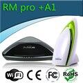 Casa inteligente interruptor de controle remoto sem fio universal & detector de qualidade do ar broadlink rm2 rm pro2 + a1 para iphone android, wi-fi + ir + rf,