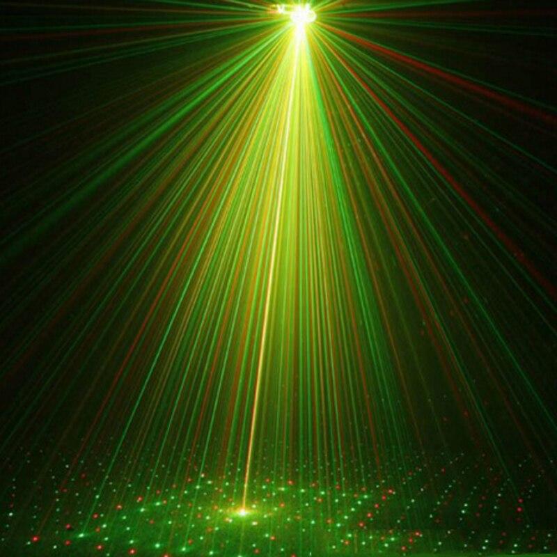 1 компл. синий мини лазер проектор света диско DJ Лазерная Этап Освещение для рождественской вечеринки показать Club Bar паб Свадебные