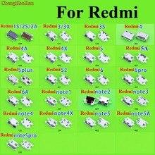 ChengHaoRan マイクロ USB 充電ソケットコネクタ V8 ポートデータ Xiaomi Redmi 1 S 2 S 2A 3 3X3 S 4 4A 4 × 5 5A 5 プラス S2 6 プロ