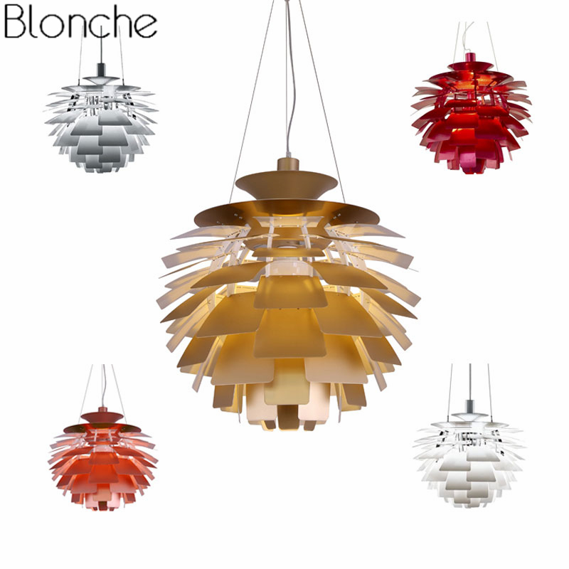 Danemark Louis Poulsen PH Artichaut Pendentif Lampe Moderne Suspendus Lumières pour Salon Cuisine Luminaires Décoration Luminaire E27