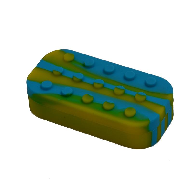 7 in 1 Non-stick Lego Rubber siliconen wax / butaan olie-container en - Home opslag en organisatie - Foto 4