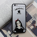For Apple iPhone 6 6s Case boy girl Pattern Transparent TPU Silicone Protective sleeve for iPhone 6s cover cases