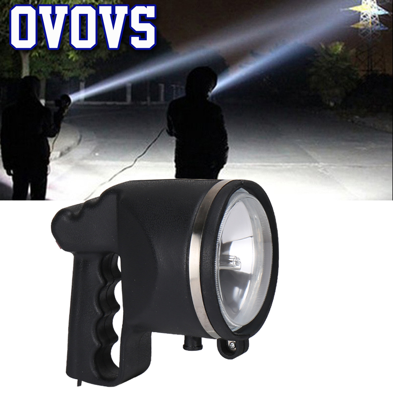 4 5 Inch 55W HID Xenon Search Light Fishing Lamp Portable Spotlight for Hunting Boat Camping
