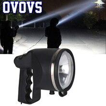 4,5 дюймов 55 Вт HID Xenon поисковый светильник, лампа для рыбалки, портативный Точечный светильник для охоты, лодки, кемпинга, открытый светильник ing 1 шт