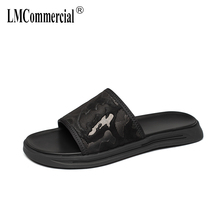 Men's Genuine Leather slippers Summer outdoor beach sandals leisure shoes men all-match cowhide Sneakers Flip Flops Leisure все цены