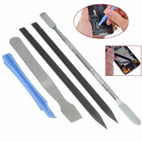 5 In 1 Mobile Repair Opening Pry Metal Spudger Tool Kit For Samsung S6 5 4 3 2 Tool Parts
