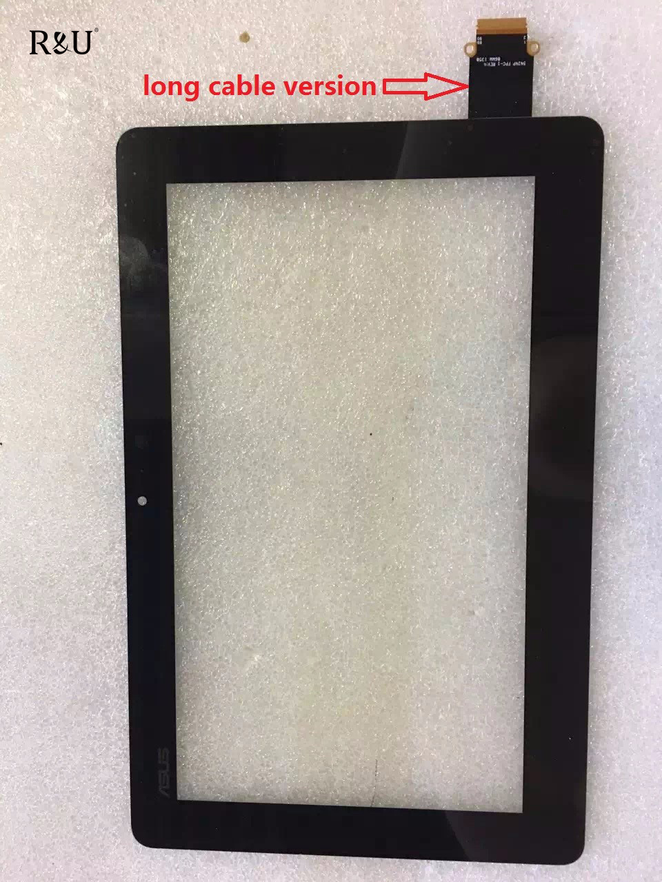R&U test good 11.6 Touch Screen Digitizer outside screen 5424P FPC-4 long cable version for ASUS TX201 TX201L notebook pc