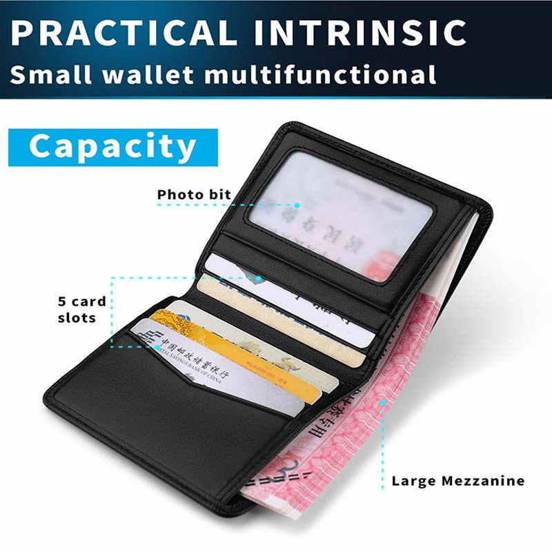 WILLIAMPOLO Designer de Couro Genuíno saco De Couro Dos Homens Slim Fina Mini Carteira Masculina Pequena Bolsa Cartão de Crédito Preço em Dólar PL250